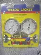 Yellow Jacket, Ritchie Engineering, Gauge Set 2 Valve Manifold R12, R22, R502