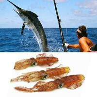 Fishing Lure Baits Lead Jig Head Hook Grub Worm Soft Shads Fish-Tackle Silicon