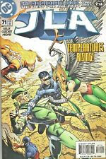 JLA #71  THE OBSIDIAN AGE III  TEMPERATURES RISING  DC 2002  NICE!!!