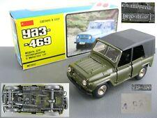 UAZ-469 1:43 A34 Car model metal diecast 1985 Legendary USSR Soviet Russia
