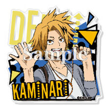 My Hero Academia Kaminari Denki Acrylic Badge Pin Anime Manga NEW