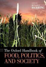 The Oxford Handbook of Food, Politics, and Society (Oxford Handbooks),