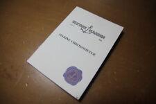 Libricino booklet ULYSSE NARDIN originale vintage