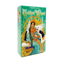 78 Tarot of the Golden Wheel Rider Waite Table Deck Board Game Party Tarot Cards