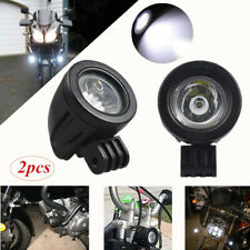 Modification Motorcycle LED Focused Beam Driving Fog Head Spot Light Head Lights