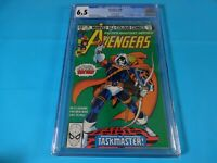 CGC Comic graded 6.5 avengers #196 1st taskmaster app  Key issue