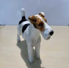 Vintage Royal Doulton Wire Haired Fox Terrier figurine.  Perfect condition.