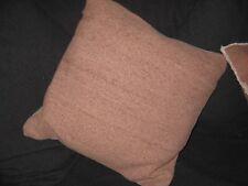 Kissen mit Füllung Sofakissen Winter Deko 45 x 45 rosa Taube grau Shabby chic