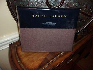 NIP Ralph Lauren Great Compton Riverport Purple 100% Wool Euro Sham