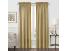 """JCPenney Home Hilton Rod-Pocket Curtain Panel 54""""W X 84""""L Pure Gold"""