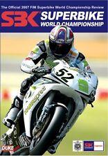 WORLD SUPERBIKE 2007 DVD REVIEW. JAMES TOSELAND. Stereo. 180 Mins. DUKE 1833NV