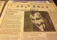 Kiss Rare Newspaper Clippings Magazine Poster