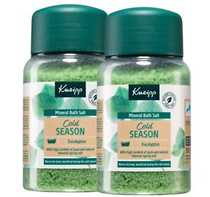 Kneipp Cold Season Eucalyptus induce well-being and relaxation Bath Salts2x500g