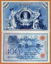 Germany, 100 Mark, 1908, P-33, UNC > 110 Years Old