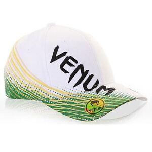 Venum Electron Brazil Hat white MMA UFC Fightwear
