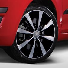 "Suzuki Genuine Swift SZ2 Alloy Wheel Rim 5J x 15"" 'Cannes' Black Polished"