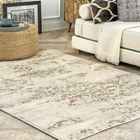 nuLOOM Transitional Vintage Freja Area Rug in Beige
