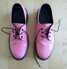 Womens Shoes - UK size 6 - Dr. Martens 3 Eyelet - Patent Pink