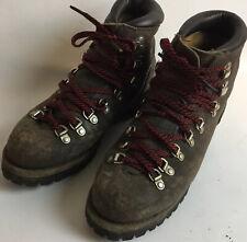 VASQUE DISTRESSED BROWN VINTAGE MOUNTAIN HIKING TRAIL BOOTS Shoe Sz 7.5 C 07389