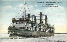 Prince Edward Island Car Ferry Ice Breaker Northumberland Straits Used 1920