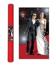 Movie Night Hollywood Themed Party Long Red Carpet Aisle Runner Decoration