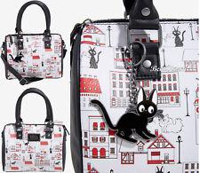 Loungefly Her Universe Studio Ghibli Kiki's Delivery Service Jiji Cat Barrel Bag