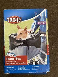 TRIXIE Friends on Tour Front Box Biker Pet Carrier, up to 7kg Dog Carrier