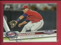 Brian Dozier 2017 Topps Opening Day Card # 162 Minnesota Twins Dodgers Baseball