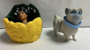 Burger King Kids Meal Toy 1995 Disney Pocahontas Movie Action Figures Lot Of 2