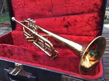 vintage besson new creation large bore trumpet