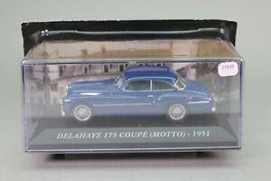 ZT820 IXO voiture 1/43 Delahaye 175 coupe Motto 1951 bleue