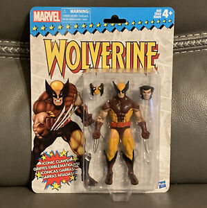 "Wolverine Marvel Legends Retro Vintage Series 6"" Action Figure 2017"