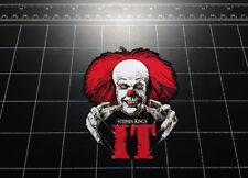 IT Pennywise vinyl decal sticker Stephen King horror movie