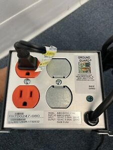 Ametek Powervar Ground Guard Power Conditioner ABCG100-11