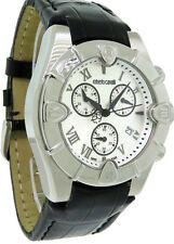 Roberto Cavalli R7251616545 Diamond Time Men's Chronograph Date Alligator Watch