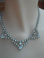 Vintage Art Deco 1930s Diamond Paste Necklace