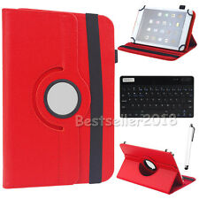 "HOT For 7"" 7.9"" 8"" Android Tablet Bluetooth Keyboard +Rotate Leather Case Cover"