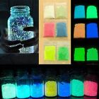 12 Colors Glow in the Dark Super Bright Fluorescent Powder Glow Pigment DIY Cool