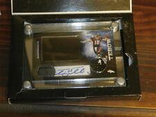 2011 PANINI TOTALLY CERTIFIED HRX VIDEO  AUTOGRAPH CARD TIM TEBOW 1/10