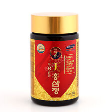 240g(8.5oz) X 1 EA, Korean 6Years Root Red Ginseng Gold Extract, Saponin, Panax
