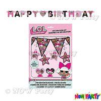 LOL Suprise Birthday Party Supplies Girls Childrens Decorations
