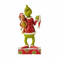 The Grinch by Jim Shore NEW 2020 Resin Figurine Christmas Grinch Holding Max