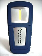 COB LED Profesional Linterna batería Luz de trabajo Lámpara Scangrip Mini forma