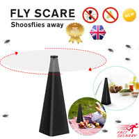 Practical Outdoor Electric Fly Bugs Repellent Fan Spinning Fly Insect Repeller!!