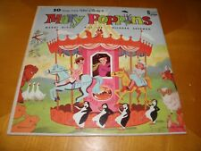 Disneyland DQ-1256 10 Songs From Walt Disney's Mary Poppins 1964 EXC / VG+