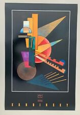 KANDINSKY,'ABSTRACT VARIATIONS' YALE UNIVERSITY, RARE AUTHENTIC 1988 ART PRINT