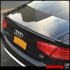 Rear Trunk Lip Spoiler Only 244L (Fits: Audi A8 A8L S8 2010-17) Unpainted