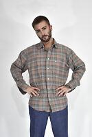 MURPHY E NYE Camicia A Quadri Multicolore In Cotone Taglia XL Uomo Man