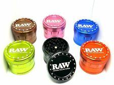 More details for raw grinder 63mm 4 part cnc aluminum shredder high quality tobacco spice grinder