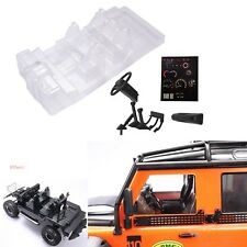 Transparent Interior Body Shell Decor Part for Traxxas TRX4 Defender D110 RC Car